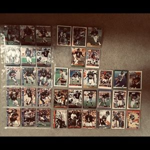 Accessories - 38 Chicago Bears Cards